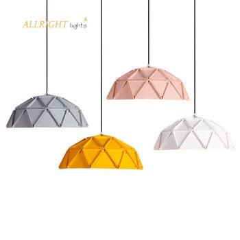 Lámparas LED suspendidas para salle Manger Nordique restaurante lámpara colgante avec Abat-Jour...
