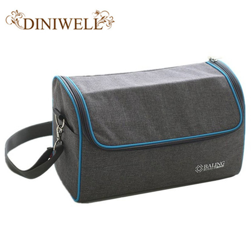New Lunch Box Mommy Bag Thickened Tin Foil Insulated Bag Picnic Food Fresh Keeping Organizer Insulation Cooler Bag