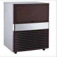 220 V Ticari Otomatik Buz Makinesi 60 KG/24 H Kullanarak Ev Için Buz Küpü Yapımcısı Çubuğu Kahve Dükkanı Büyük Kapasiteli ile