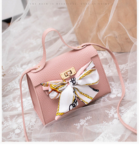Bags For Women 2019 Small Bags Fashion Handbag Luxury Shoulder Bag Messenger Silk Scarves Bow-Knot Flap Hand Bag For Women Girl xiyuan brand women fashion original national wind embroidered fight side canvas embroidery lotus shoulder bag hand bags for girl