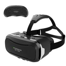 VR SHINECON II 2แว่นตา3Dใหม่ล่าสุดอัพเกรดVRความจริงเสมือนแว่นตาวิดีโอสำหรับมาร์ทโฟน-บลูทูธควบคุมระยะไกล