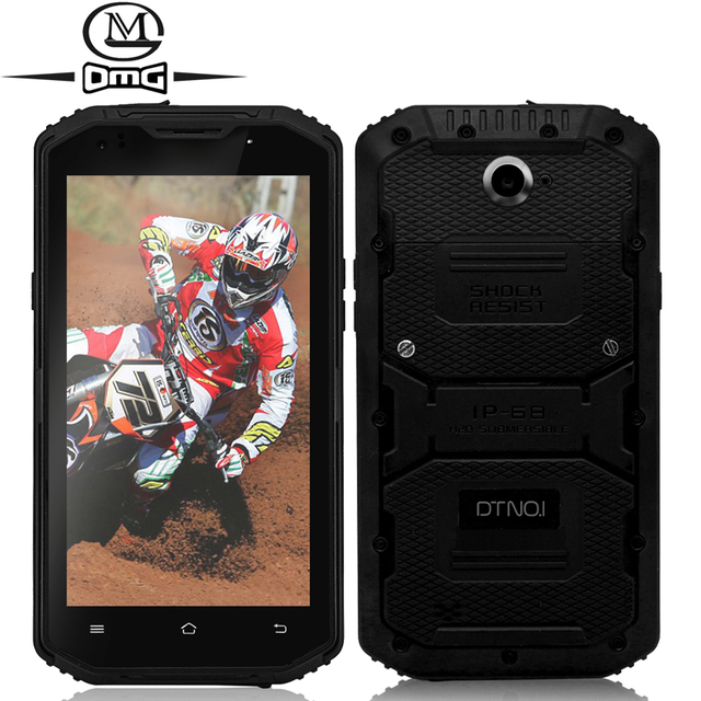 "IP67 Waterproof shockproof mobile phone Original DTNO.I X3 Vphone MTK6735 Quad Core 5.5"" Android 5.1 2G RAM 4500mAh cell phones"