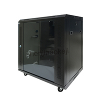 12U Wall hanging cabinet Cold rolled steel plate + electrostatic spray cabinet wall cabinet network cabinet 220V (50Hz) 1pc