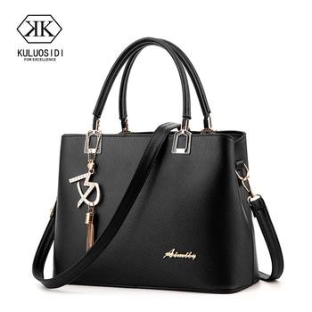 Fashion Women Leather Handbags Messenger Bags Women  Bag Luxury Handbags Women Bags Designer 2018 Sac a Main Female
