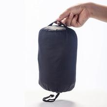 Lightweight Outdoor Camping Nylon Waterproof Stuff Bag 6L 23g Black Free Shipping organizer