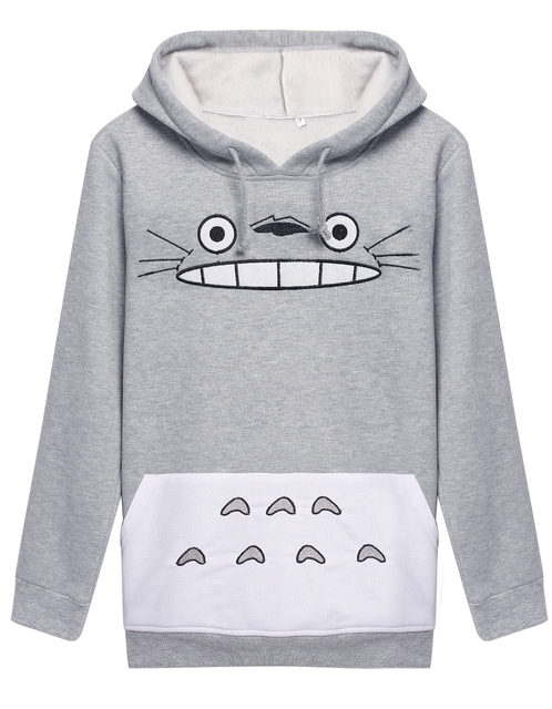 Totoro Harajuku Hoodie Sweatshirt