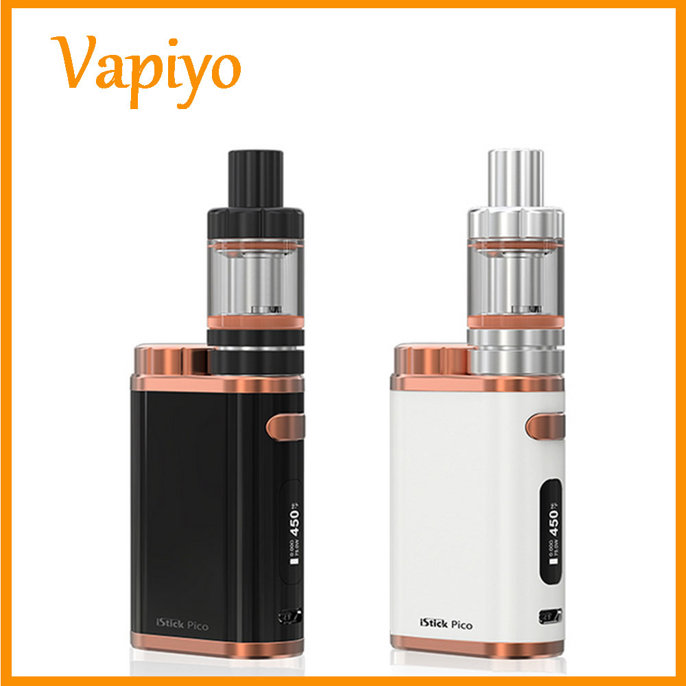 New Arrival Original iSmoka Eleaf iStick Pico 75W Kit with 4ml Melo 3 or 2ml MELO3 Mini Vape Electronic Cigarette Health Gadget