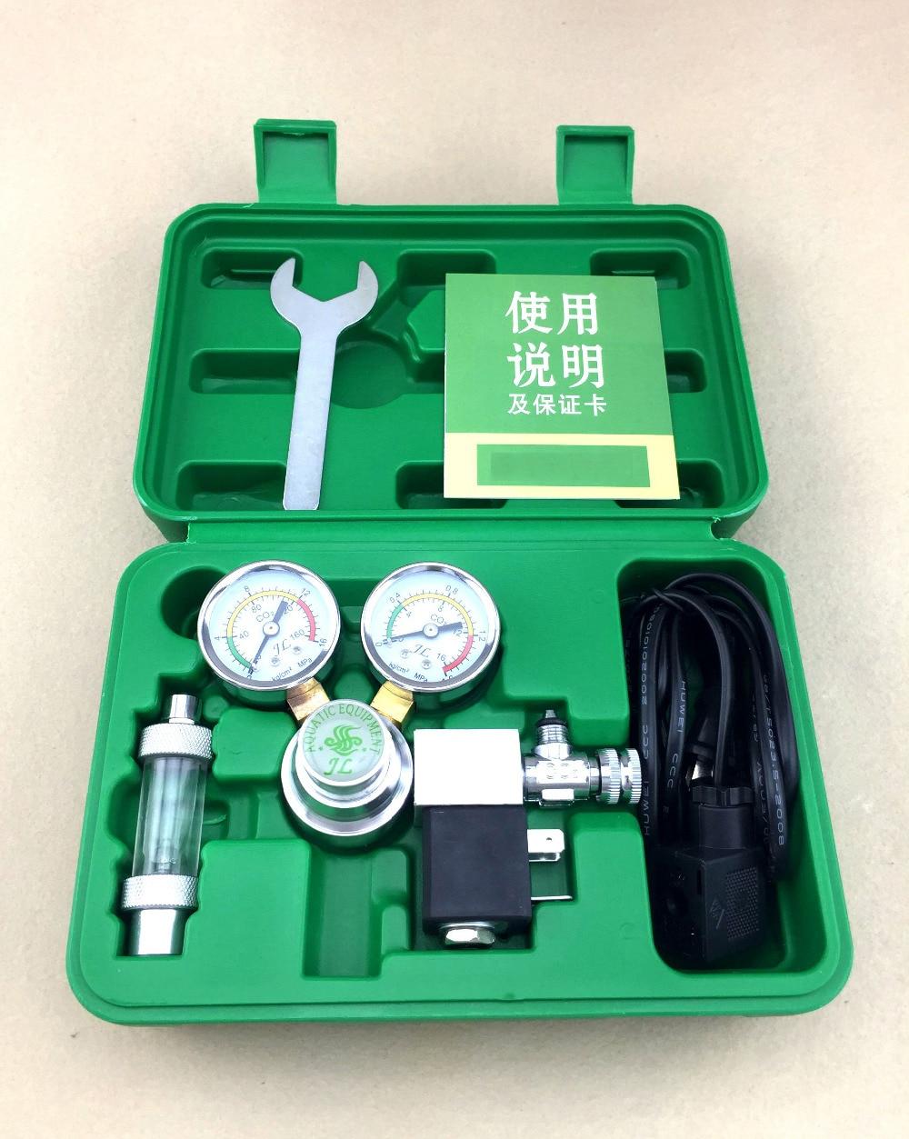Professional CO 2 carbon dioxide dual-table solenoid valve  fine-tuning valve  aquatic table