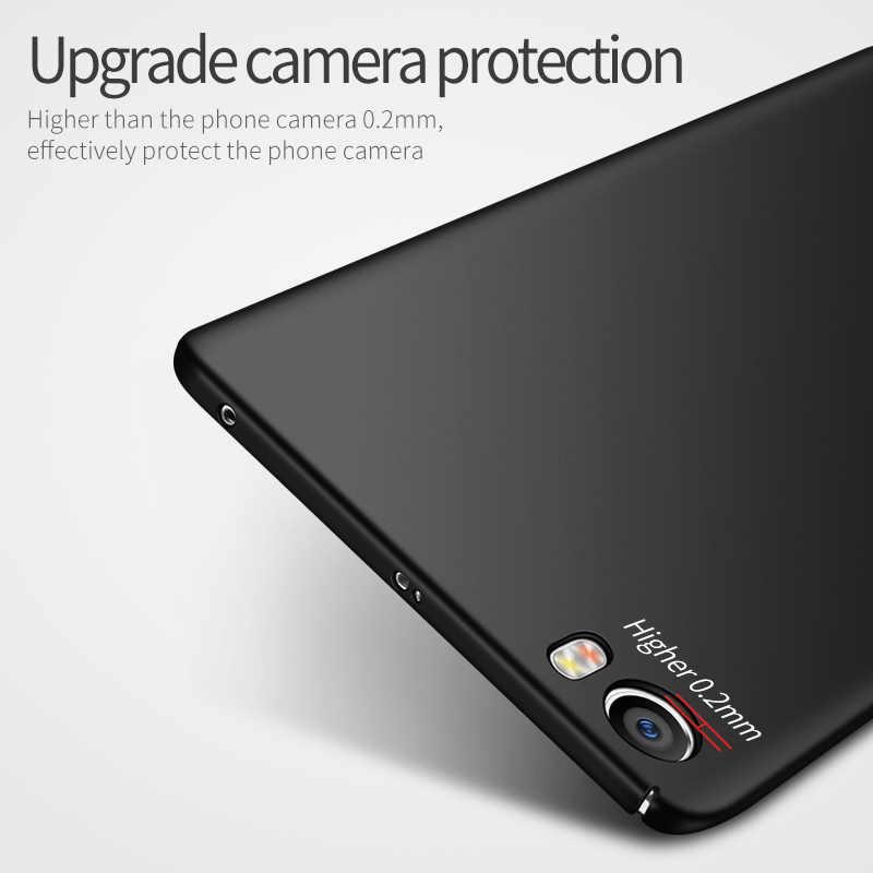 Msvii для Xiaomi Xiaomi Mi5 Чехол Mi5 s Mi5s Plus 5/7 Mi 5 Чехол 360 Prime Подлинный Чёрный Тонкий Твёрдый Глянцевый Чехол Для Телефона Xiaomi