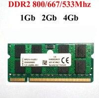 Memoria оперативной памяти DDR2 2Gb 4gb 1Gb DDR2 800 / 800Mhz PC2-6400 DDR2 1G 2G 4G / SODIMM DDR2 настольного RAM - гарантийный срок эксплуатации