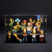 1set 5 12cm 14pcs Set The Simpsons New The Simpsons Collection Figure Toy Decoration Action Figure