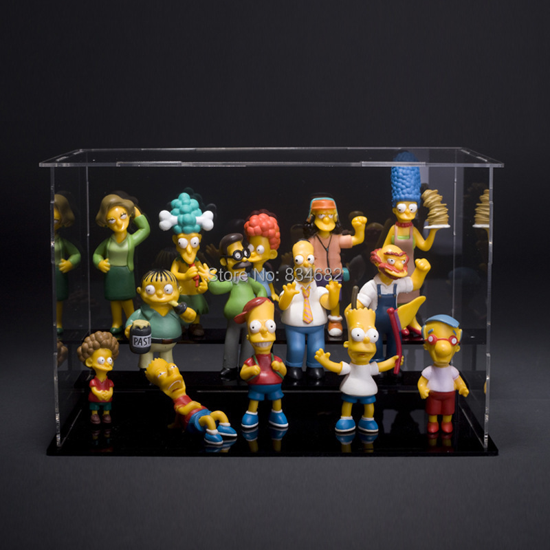 1set 5 12cm 14pcs/set The Simpsons New The Simpsons