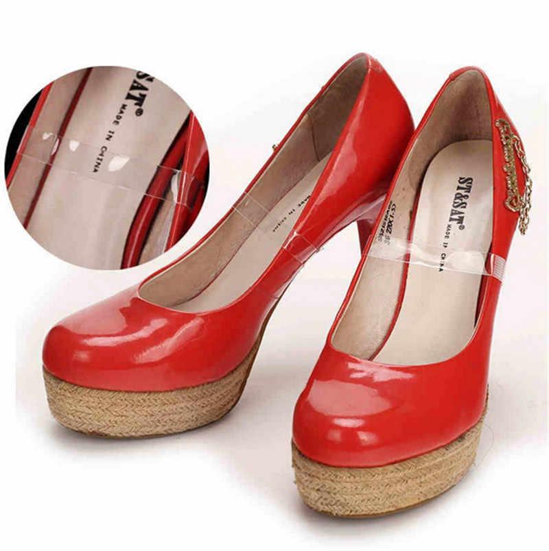 رائجة البيع 2 قطعة/زوج الأشرطة الحذاء غير مرئية واضحة لعقد أحذية فضفاضة الرقص عالية الكعب البغال