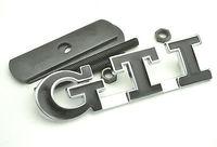 1 PCS GTI Badge Car Front Grill Mount Mteal Emblem For GOLF POLO GTI Grille Emblem