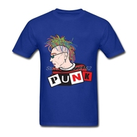 Prevalent Hipster T Shirt Men Green Blouses Designs Punk Rock T Shirts Adult For BF Asia