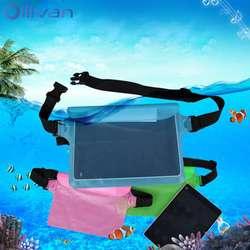 Открытый Спорт плавание дрейф дайвинг поясная сумка для iphone XS MAX 7 8 Plus водостойкая сумка из ПВХ для ipad смартфон Универсальный