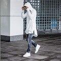 New 2017 Hooded Side Zipper Kanye west Hoodie clothing Hip Hop Swag Sweatshirt Mens Hoodie Spring Street wear Men Hoodies Long