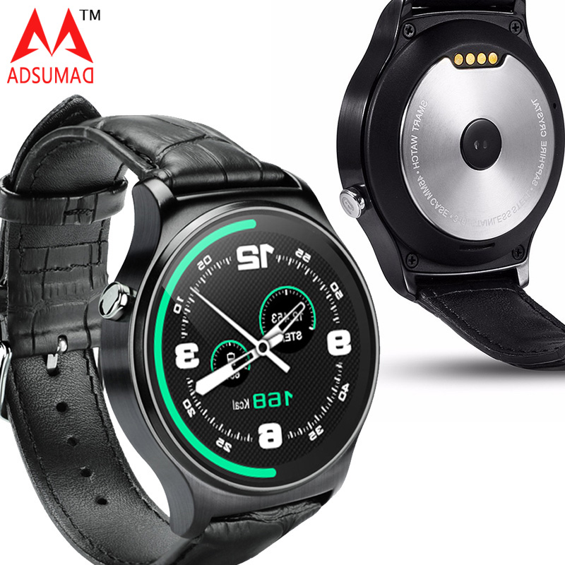 Smart watch GW01 MTK2502 Bluetooth 4.0 waterproof IP53 Heart rate monitor for IOS Android IPS round screen pedometer 2pcs2017 gw01 round screen smart watche andrews ios bluetooth touch stainless steel watch wearable heart rate during exercise