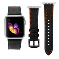 100 Genuine Leather Watchband For Apple Watch Band Series 3 2 1 Leather 42MM 38MM For