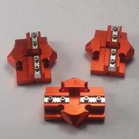 Delta Kossel mini k800 effector pulley sliding gauge hammock lifting platform effector For DIY 3D printer metal e