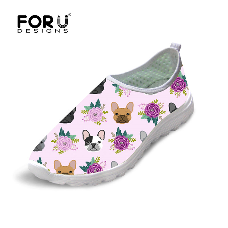 Air Zapatillas Femmes Maille Casual on Customized De Chaussures Forudesigns Français Plates Marche Slip Aa Bouledogue zjz141aa zjz137aa Confortable Imprimer Mocassins zjz138aa gwn8wqY