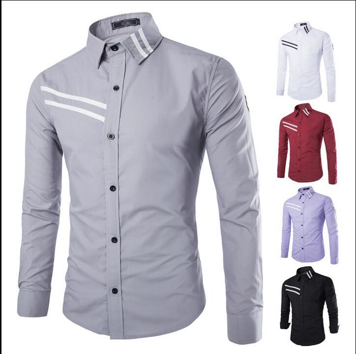 Online Shop Brand Men'S Shirts Social Designer Shirts Imported ...