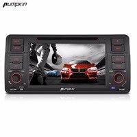 호박 2 Din 7''Android 6.0 자동차 DVD 플레이어 BMW E46 쿼드 코어 GPS 네비게이션 자동차 스테레오 블루투스