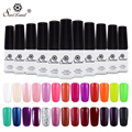 Saviland 1pcs UV Gel Nail Polish Long Lasting Soak-off LED Gel Varnish Pure Colors Professional Nail Gel Manicure