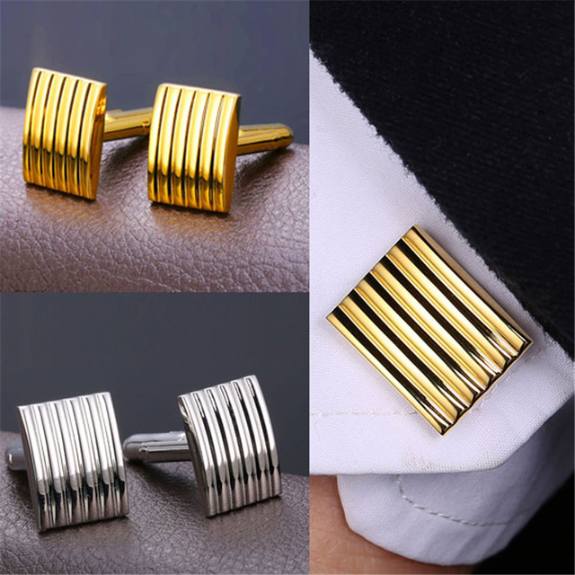 Striped Cufflinks (2 colors)