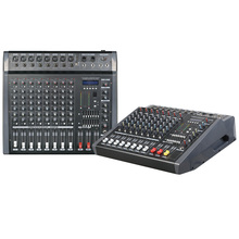 Mixing console recorder 48 V phantom power monitor AUX effect path 6-16 channel audio mixer USB comes with power amplifier MPX