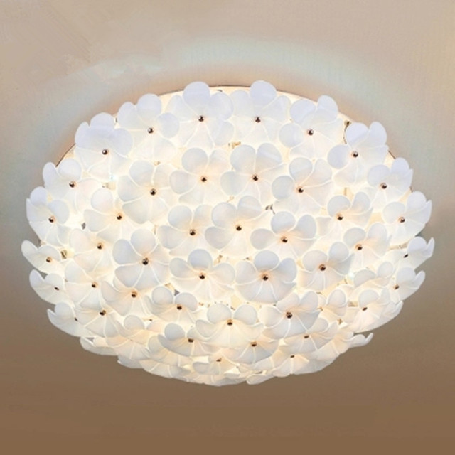 aliexpress koop moderne led bloem plafond slaapkamer lamp