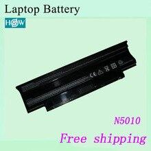 5200 мА/ч, N5010 N4010 N7010 Аккумулятор для ноутбука DELL Inspiron 15R 17R 14R 13R для Vostro 3450 3550 3750 Аккумуляторы для ноутбуков