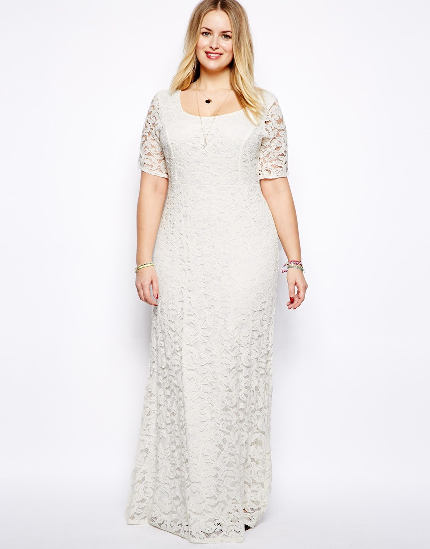 Plus Size Tea Length Wedding Dresses Canada | Saddha