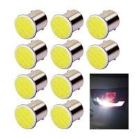 100x 1156 BA15S 1157 BAY15D Cob 12v Rear Turn Signal Bulbs Trailer Truck Light Parking Auto