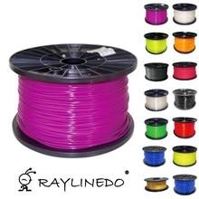 Purple color 1Kilo/2.2Lb Quality PLA 3.00mm 3D Printer Filament 3D Printing Pen Materials