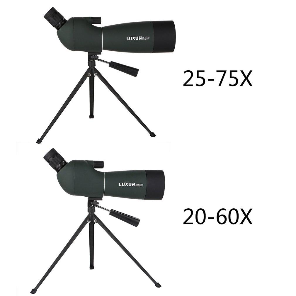 Monocular Telescope High Clarity Large Aperture Observation Waterproof Green Film Telescope HD Outdoor Spotting Zoom Scope