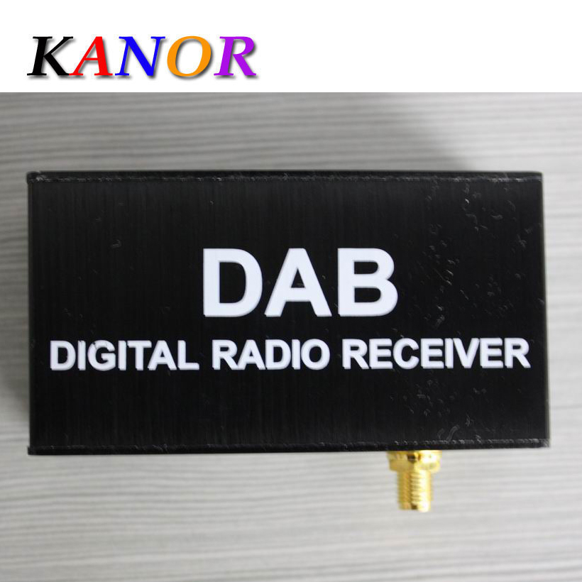 Kanor DAB Digital font b Radio b font Receiver For Android font b Car b font