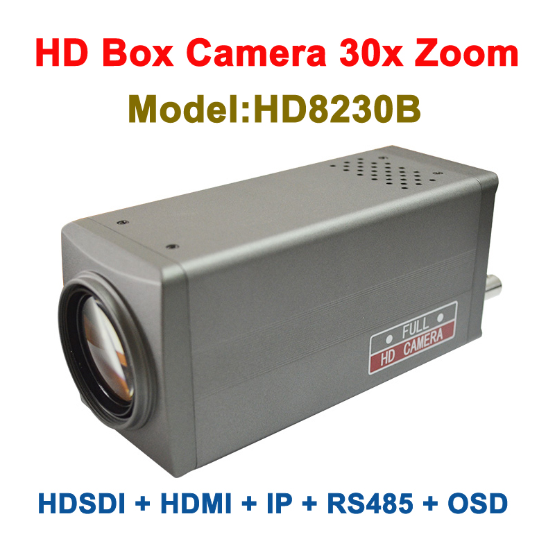 2mp 1080p 60fps 30x Optical Zoom ip video box camera hdmi with 3G-SDI Output image