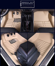 цена на Myfmat custom foot leather car floor mats for vw Gran Lavida Cross Lavida PHIDEON Teramont EOS free shipping black coffee beige