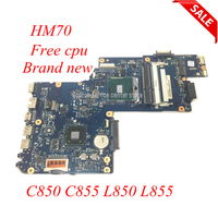 NOKOTION Brand New H000052730 Laptop Motherboard for Toshiba Satellite C850 C855 L850 L855 C850 1HE C850 1CW HM70 free cpu works