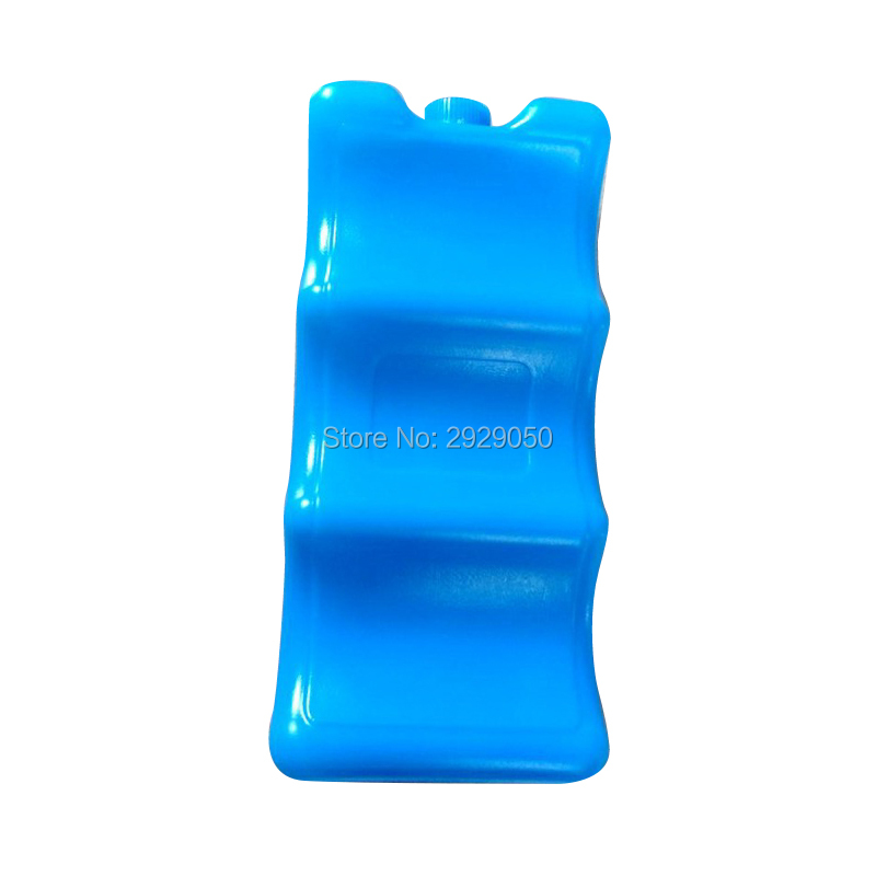 Ice water single face double face wave type ice box cooler bag large capacity 600ml Absorbent polymer resin Cooler Bags