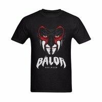 Yeni Varış Erkekler Moda Baskı O-Boyun Stil erkek T-shirt Finn Balor Balor Arttı Görüntü Baskılı T Shirt