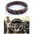 Universal Car Steering Wheel Cover national customs Cloth Steering-Wheel Cover soft stuurhoes Breathable Skidproof funda volante