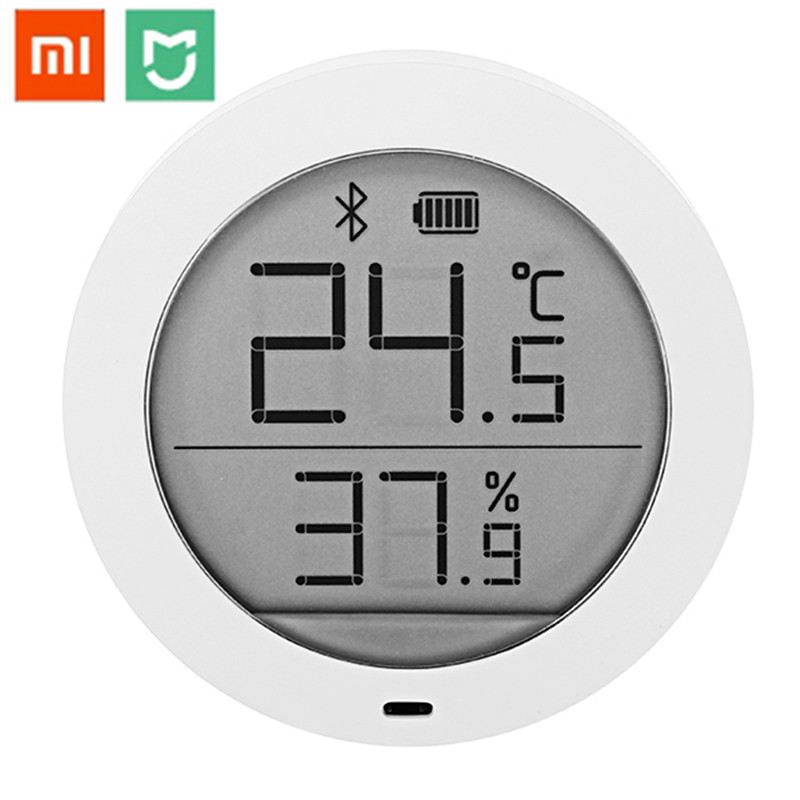 Original Xiaomi Mijia Bluetooth Temperature Smart Humidity Sensor Digital Thermometer Moisture Meter Mi Home APP with Battery цена 2017