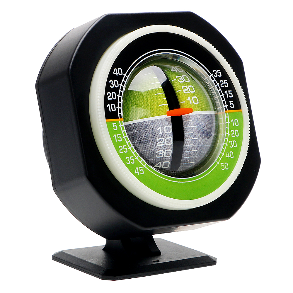 Auto Slope Meter Level Inclinometer Angle Car Compass Car Vehicle Declinometer Gradient High-precision Built-in LED