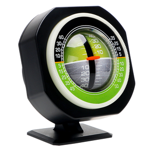 Image 1 - LEEPEE Auto Slope Meter Level Inclinometer Angle Car Compass Car Vehicle Declinometer Gradient High precision Built in LED