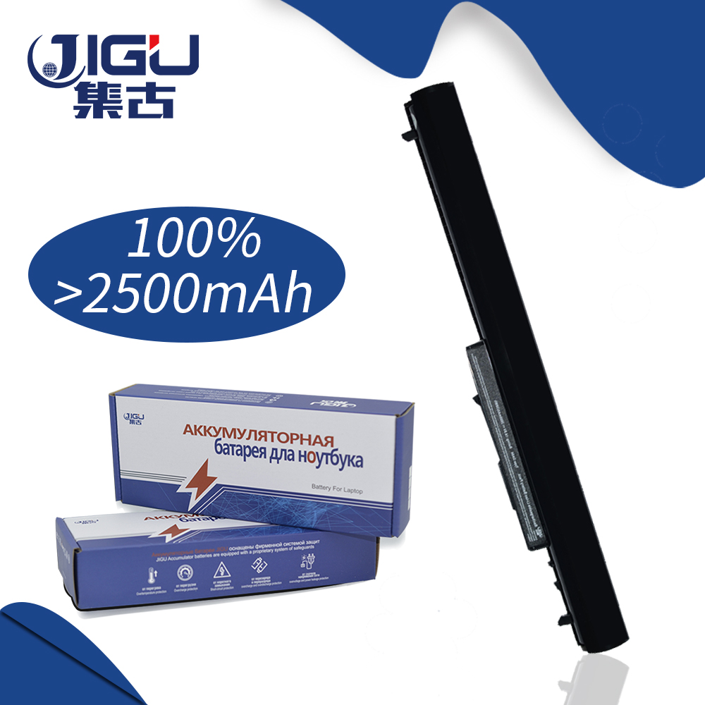 JIGU 2600MAH 4CELLS Laptop Battery For HP 240 G2 OA04 HSTNN-LB5S 740715-001 TPN-F113 TPN-F115 bluesonic bs f115
