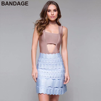 holesale Summer Women Outfit Cheap Hot Party Baby Blue Mini A Line Hollow Out Aliexpress Dropship China Casual Bandage Skirt