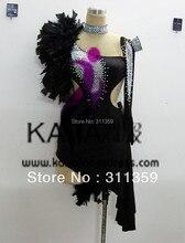 Hot sales! Free shipping Latin dance dress,tango salsa samba dance dress,latin dance wear,KAKA-L130344