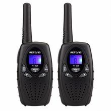 2pcs 4 color Mini Walkie Talkie Kids Radio RETEVIS RT628 0.5W UHF Frequency Porta